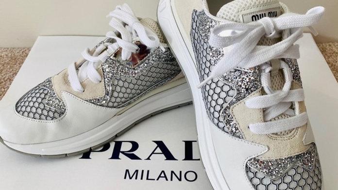 Brand New Miu Miu Sneakers Size (10)