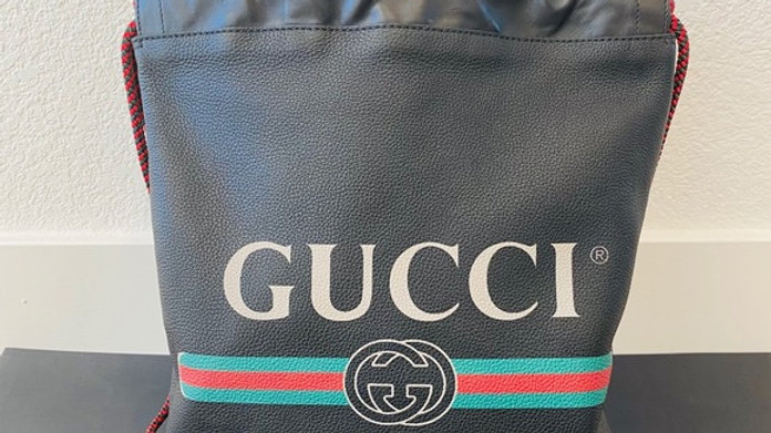 Brand New Unisex Gucci Logo Tote/Backpack