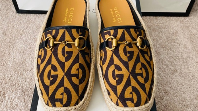 New Gucci Unisex Espadrille in US Women (Size 10)
