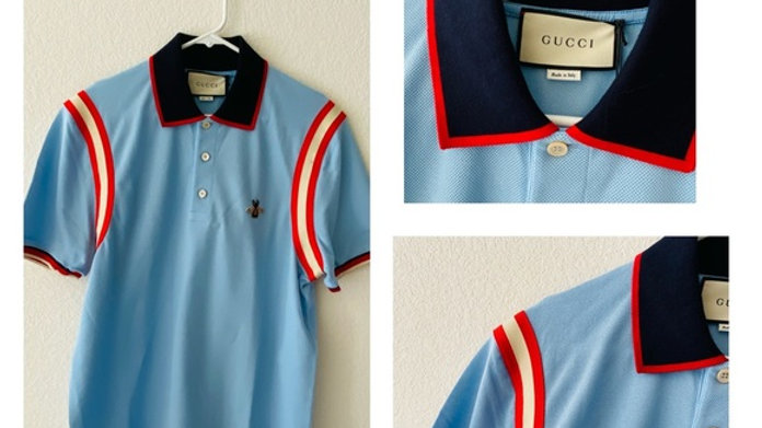 New Gucci Bee Polo-Shirt - Size  (XXL)