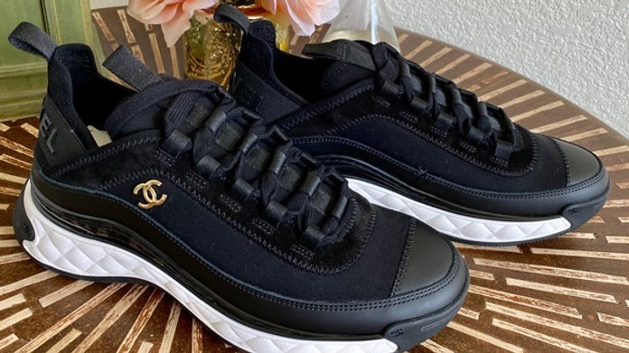New - Size 8 (38)- Bnib Chanel Sneakers (true to size)