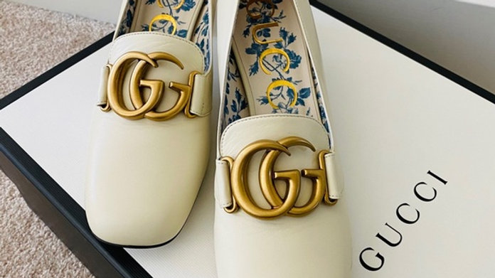 Sold - Brand new GG logo heels 100% authentic (Size 9)