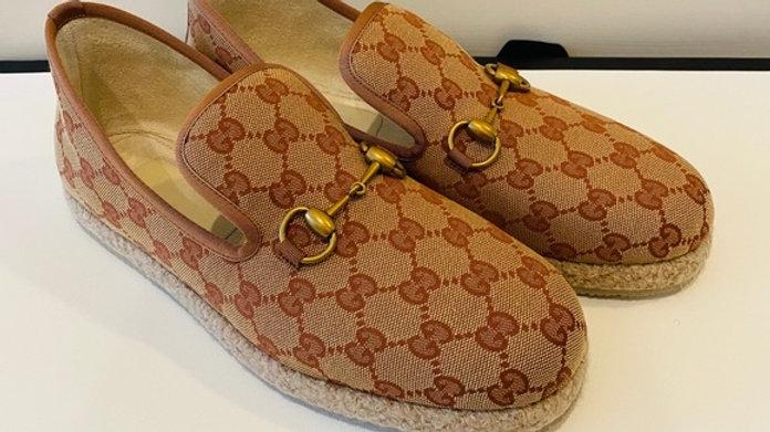 New Unisex Gucci Espadrille Loafer US men 6/women 9