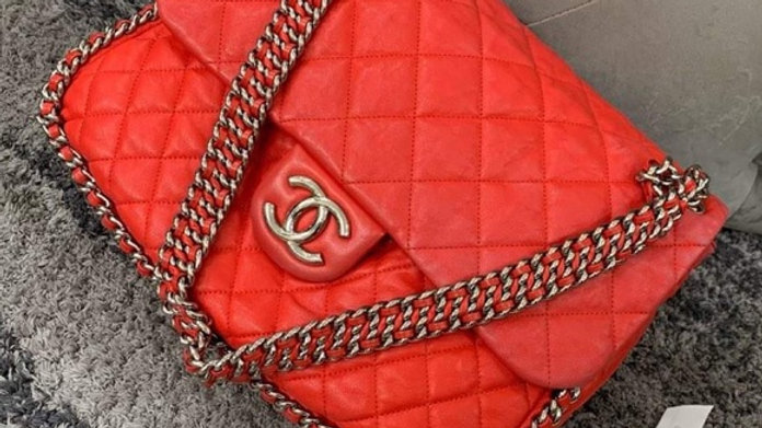 Sold - Chanel Tote with Chain Around - PreLoved