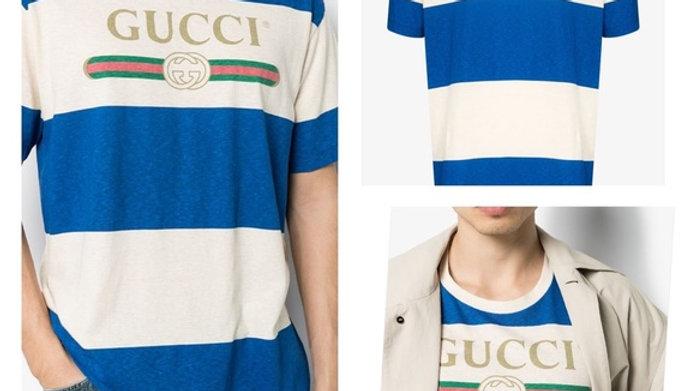 New Gucci Men Logo T-Shirt- Size  (XL)