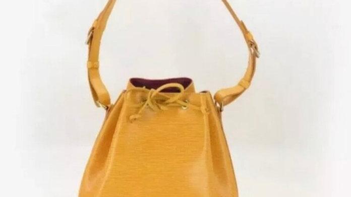 LOUIS VUITTON Shoulder Petit Noe Drawstring Bag - PreLoved