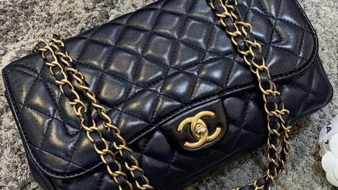 SOLD - MADEMOISELLE CHIC FLAP BAG (25cm) - PreLoved