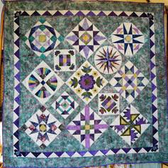8. Batik Sampler - Pat Sayers