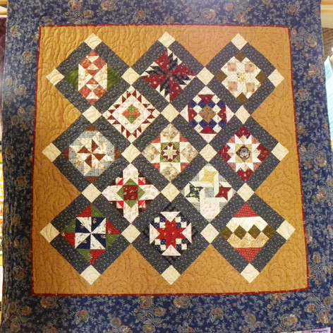 24.Civil War Sampler Quilt - Lin Jones