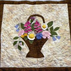 38. Flower Basket - Jennifer Boud