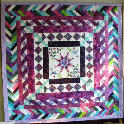 42. Bed Quilt - Jackie Smith
