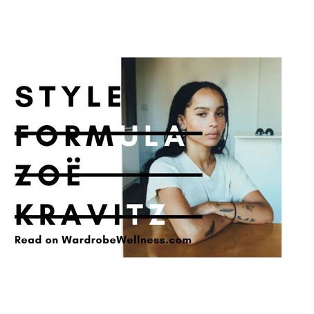 Style Formula: Zoë Kravitz