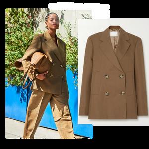 REMAIN Birger Christensen's 'Debbie' suit featured in Wardrobe Wellness blog post