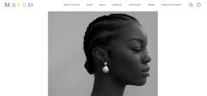 Mateo homepage featured in Wardrobe Wellness blog post