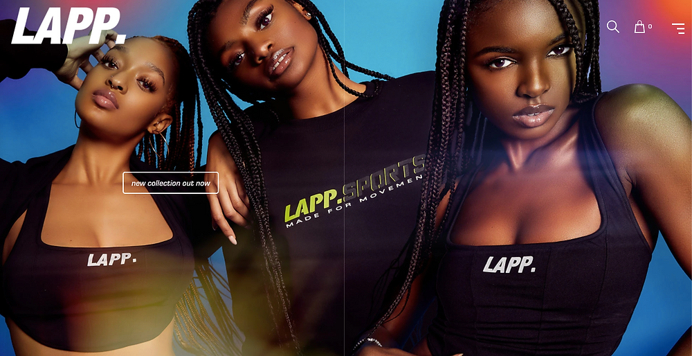 LAPP Homepage featured in Wardrobe Wellness blog pst