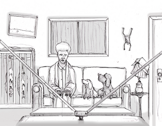ChiChi and Peggy-Sue concept art