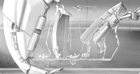 Cow Aliens Control Deck Concept