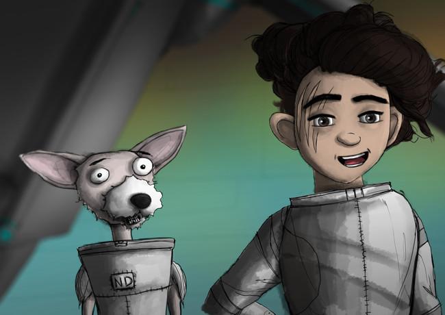Nerd-Dog Awkward Face!
