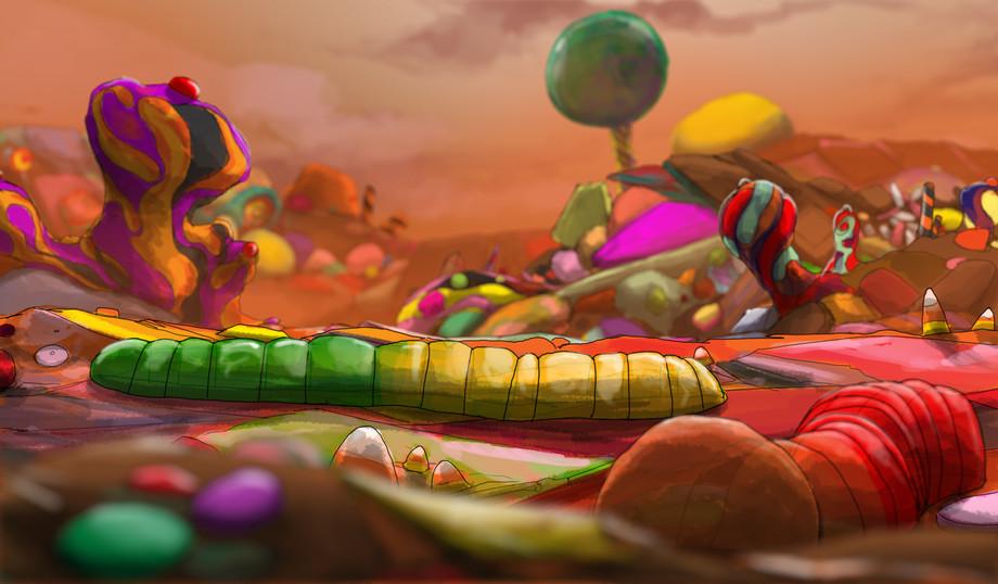 Giant Gummy Worms