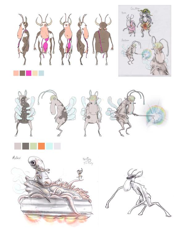 the Cow Aliens Re-Designed 2015