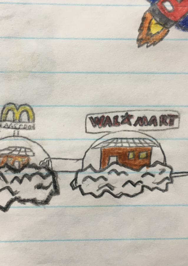 Cow Aliens Visit McDonalds and Wal-Mart