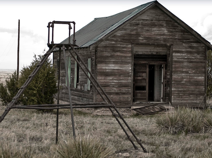 Abandoned School House, Colorado Ghost Town