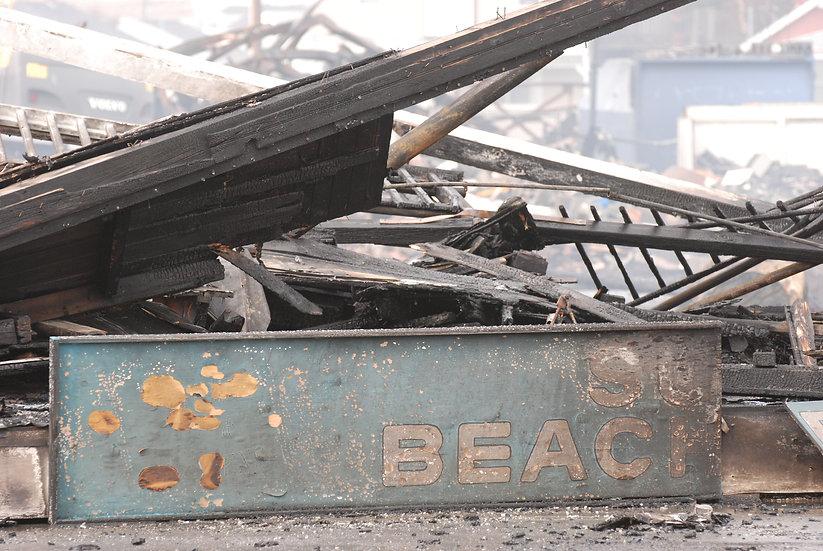 Oak Beach Fire