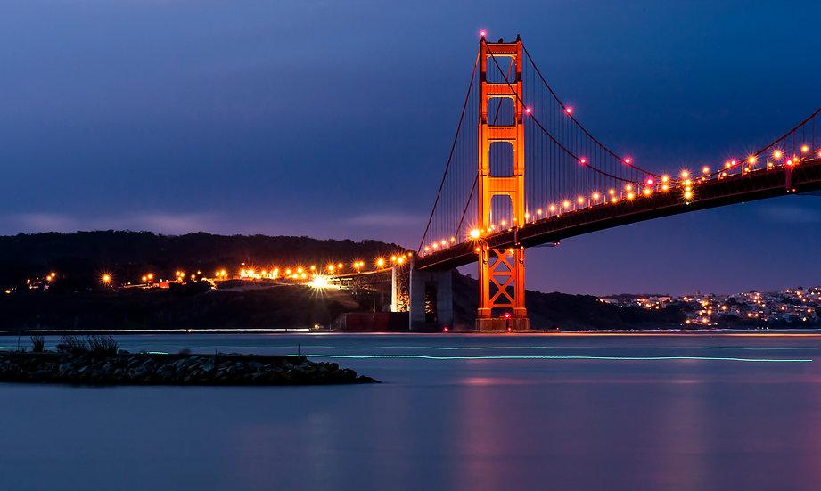 Golden Gate Bridge Exposed