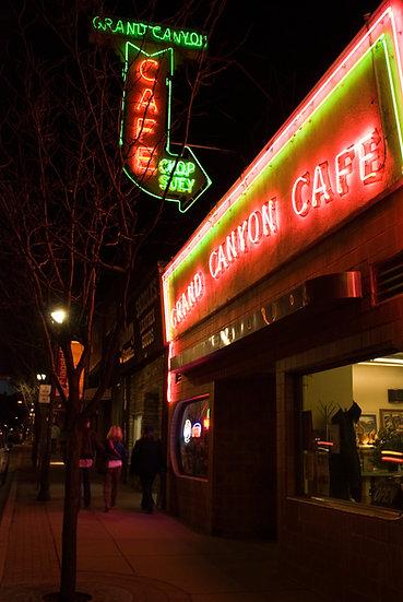 """Grand Canyon Cafe"" Flagstaff, AZ"
