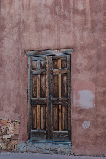 Stucco Door