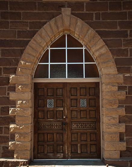 Prairie Church Doors