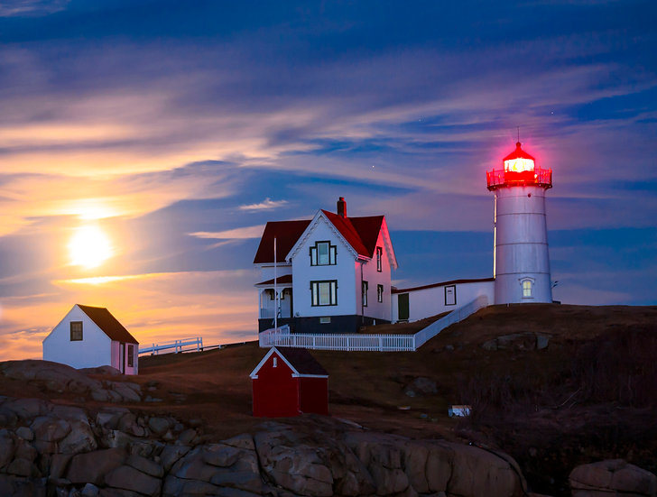 Nubble Morning