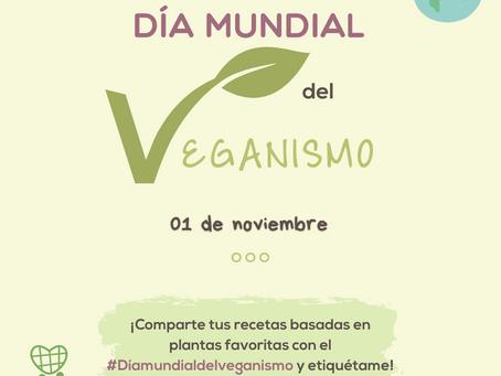 ¡Feliz día mundial del veganismo! 🌱❤️
