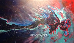 LIVE ART Eagle Nebula MGRAYART (edited-P
