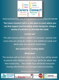 Carers Connect Cafe at Trinity Community Centre
