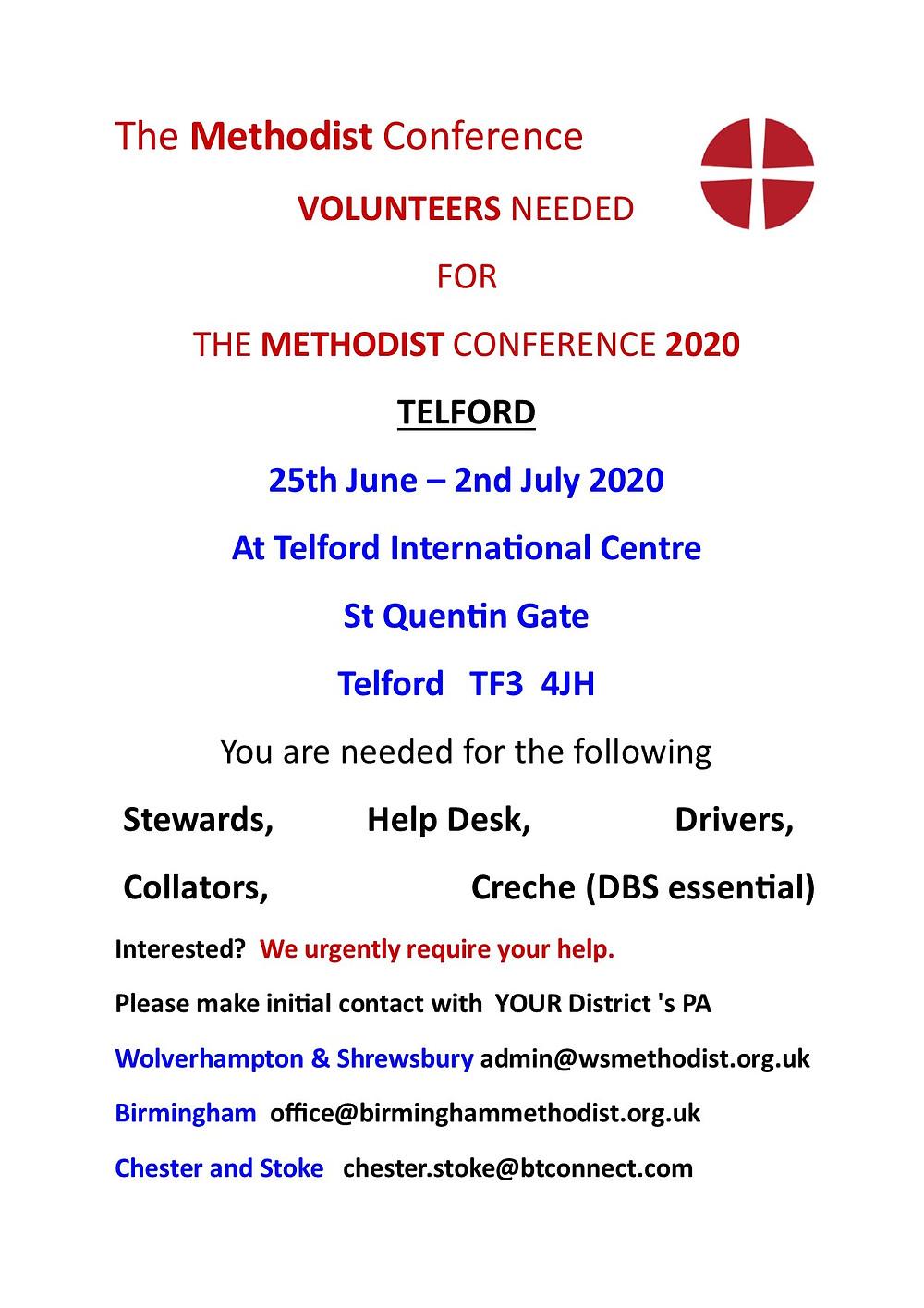 Volunteers Needed  -Please see Below