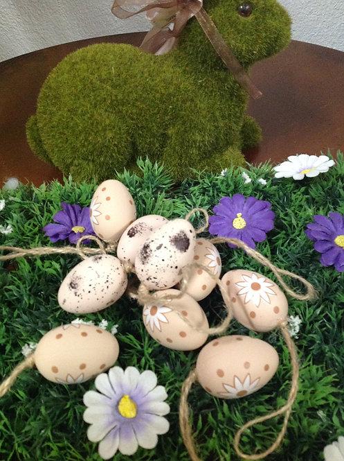 Κρεμαστό διακοσμητικό αυγό μικρό κωδ.PS173