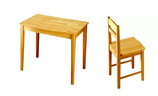 Γραφείο Ξύλινο σε φυσικό χρώμα με καρέκλα  Κωδ:Τ06955