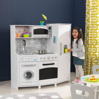 """Κουζίνα kidkraft """"Large Play Kitchen With Lights & Sounds"""""""