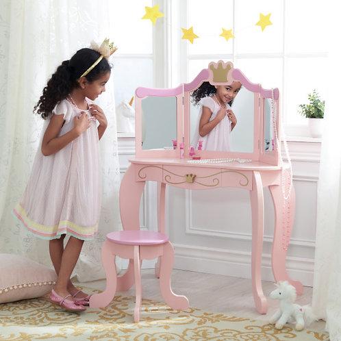 kidkraft Princess Vanity & Stool Κωδ.76123