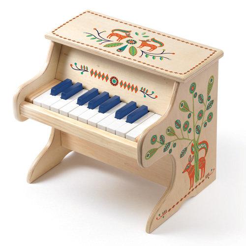 Ξύλινο ηλεκτρονικό πιάνο Κωδ:T06006
