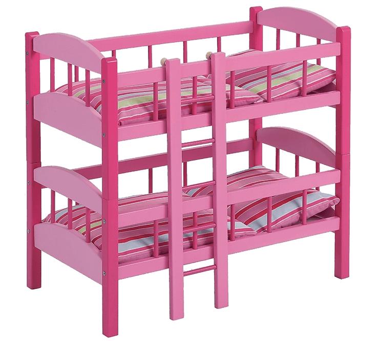 Κουκέτα ροζ για 2 κούκλες κωδ. 2420