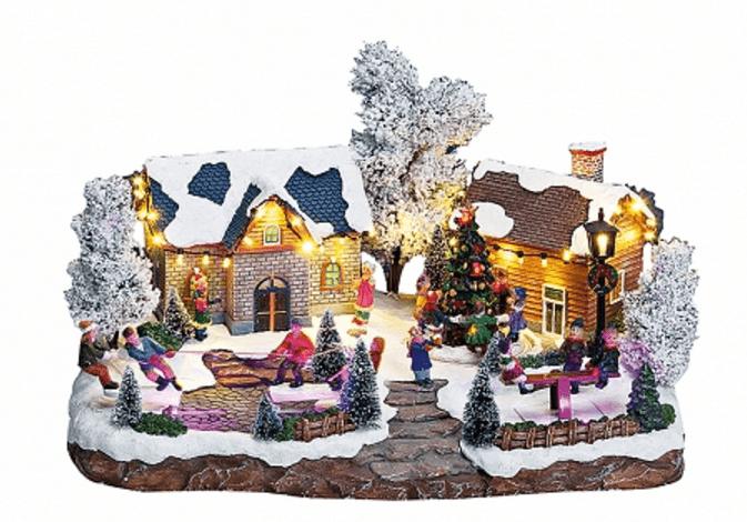 Χωριουδάκι-Χριστουγενιάτικο κωδ.Z2009