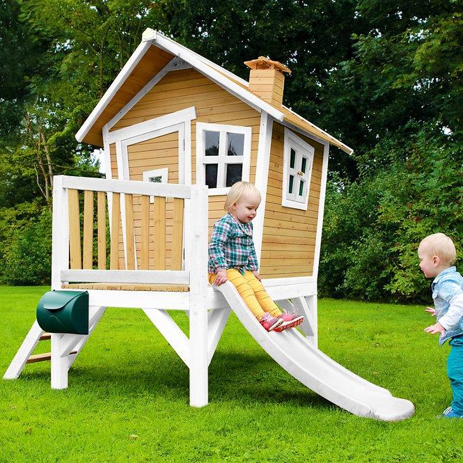Νέα Κατοικία με μπαλκονάκι προκήπιο και τσουλήθρα Κωδ.PR3045X1