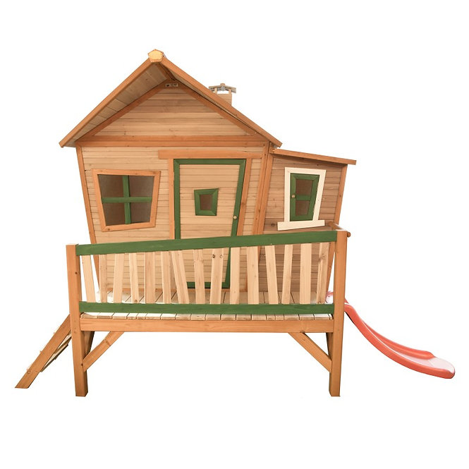 Μεγάλη Κατοικία με Μπαλκονάκι  και Τσουλήθρα Κωδ.PR30108X16