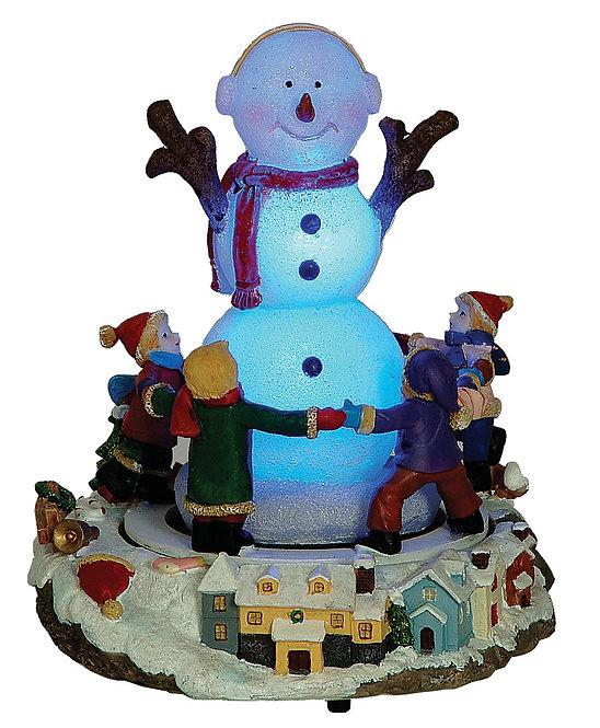 Λουνα πάρκ χιονάθρωπος παιδάκια κωδ.609002