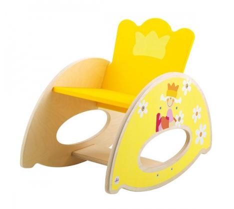 Κουνιστή ξύλινη παιδική καρέκλα πρίγκηπα  κωδ: Τ0182655