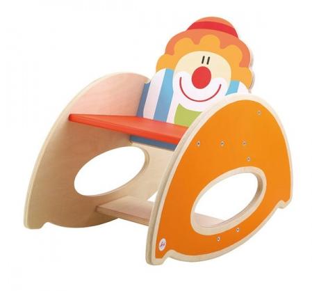 Κουνιστή ξύλινη παιδική καρέκλα Τσίρκου  κωδ: Τ0182656