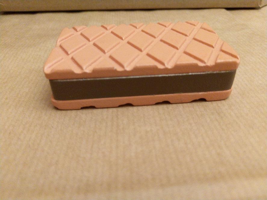 Ξύλινο  Σάντουιτς παγωτό σοκολάτα 1 τεμ.  κωδ: P818132