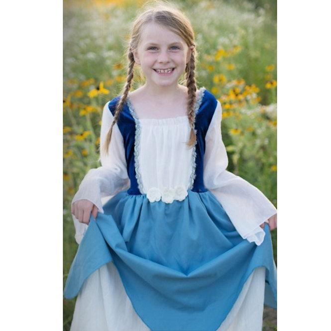 Στολή 'Πριγκίπισσα Εξοχής' γαλαζιο 7-8 ετών Κωδ: Τ38487